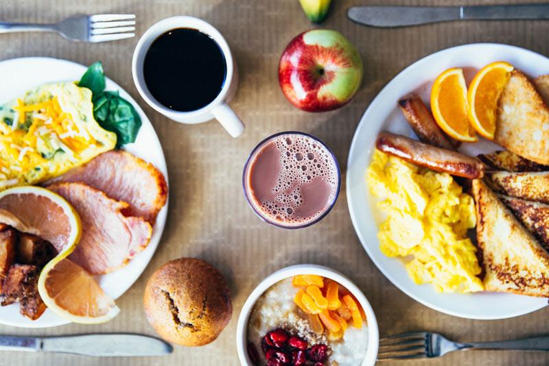 hotel free breakfast, Morning Breakfast